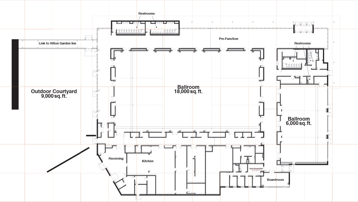 Floor Plan of The Brookfield Conference